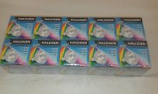 10 x HQ 20W MR16 12V CLEAR 40 Degrees Bi-Pin Halogen Light Bulb Lamp Job Lot UK