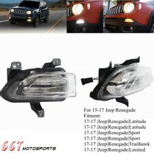 For Jeep Renegade 15-17 Side Turn Signal Light LED Daytime Driving Running Lamp