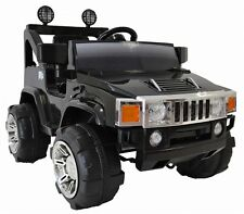 Red RC, Single Seat Hummer style  Ride on Car | 12 Volt, 90 Watts!!