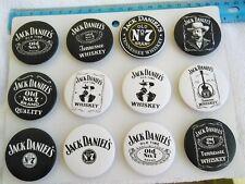 JACK'S DANIELS PIN BUTTON SPILLA BLISTER OF 12 pcs