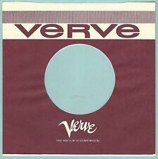 VERVE REPRODUCTION RECORD COMPANY SLEEVES - (pack of 10)