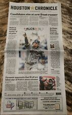 2019 Astros ALCS game 3 Houston Chronicle newspaper NY Yankees American League