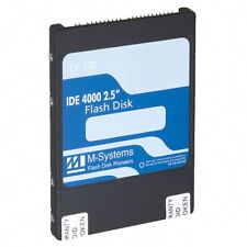 """M-Systems 2GB 2.5"""" IDE PATA Flash Disk Solid State Drive SSD Laptop Notebook 8mm"""