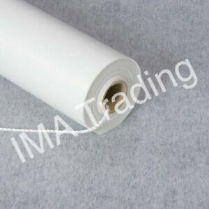 AISLE RUNNER 100ft x3ft WHITE PLAIN DESIGN NEW FOR WEDDINGS ETC