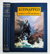 KIDNAPPED ROBERT L STEVENSON N C WYETH LIMITED NUMBERED EDITION W SLIPCASE 1982
