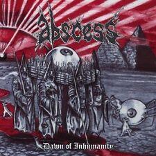 Abscess - Dawn of Inhumanity CD 2010 digibook sick death metal Peaceville