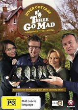 River Cottage - Three Go Mad (DVD, 2013) Brand New & Sealed R4 (D17)