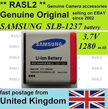 Genuine Samsung SLB-1237 battery  L85 L55W L55 Sigma DP1 DP2 Epson EU-94  BP-31