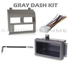 Chevy Pickup Truck 88-94 Gray Grey Stereo Install Radio Dash Kit Combo 93 92 91