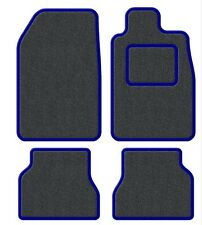 Ford Cortina mk 5 79-82 Velour Anthracite/Blue Trim Car mat set