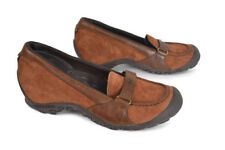 New Merrell Sz 9.5 Womens Plaza Glide GINGER Brown Shoes Loafers - 9.5