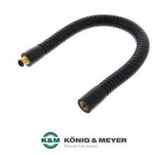 Musikerequipment K&M 224 Schwanenhals schwarz ***NEU + OVP *** schwarz