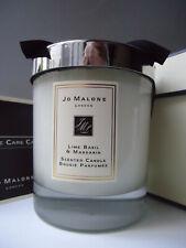 JO MALONE Lime Basil & Mandarin Large Candle 200g Sealed Glass Bowl New in Box