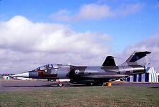 Original colour slide TF-104G Starfighter 4-40 of 4 Stormo Italian Air Force