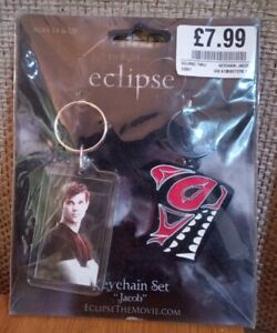 Official Licenced NECA Twilight Saga Eclipse Jacob Collectible Keychain - 2 Pack
