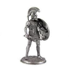 "Greek Hoplite ""Siceliota"" V Cent. Tin toy soldiers 54mm miniature metal figurine"