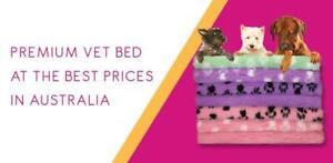 50 X 75CM PIECE - VET BED (ASSORTED COLOURS) - price for one piece (MAX 4 PIE...
