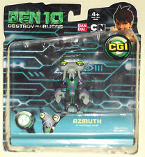 Ben 10 Azmuth Bandai Action Figure Destroy All Aliens Force Toy New Galactic