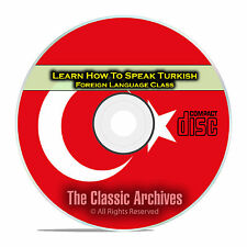 Learn How To Speak Turkish, Fast & Easy Foreign Language Training Course, CD E21