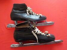 Vintage Ice Skates Size 12 Speed Hockey Nestor Johnson Mfg. Co. Chicago
