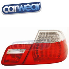 BMW E46 3-Series Coupe 2003-2006 OEM Style Clear/Red LED Tail Light 325ci 330ci