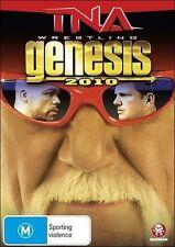 TNA GENESIS 2010 (Hulk HOGAN Kurt ANGLE Kevin NASH) Wrestling DVD NEW Region 4