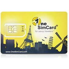 Prepaid International Sim Cards 3-in-one For Over 200 Countries With 10 Credit