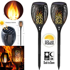 96 LEDs Dancing Flame Torch Lights for Garden Pathway Yard Pool Fence Outdoor