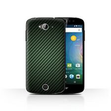 STUFF4 Back Case/Cover/Skin for Acer Liquid Z530/Carbon Fibre Effect/Pattern