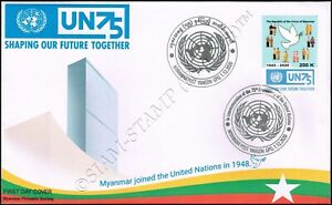75 years of the UN - Shaping our future together -FDC(II)-I-