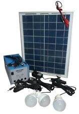 100W GDLITE 8018 Solar Lighting Kit with USB Cellphone Charging