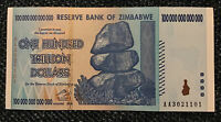Zimbabwe 100 Trillion Dollar Banknote. Dated 2008. P91. Uncirculated.