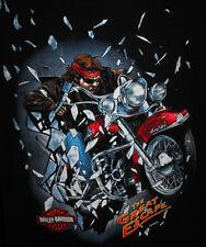 Harley Davidson T Shirt 2XL XXL Dealer Jamestown NY Motorcycle NEW! 3D