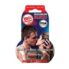 6 Pack Big Richard Male Sexual Performance Enhancement FDA Registered