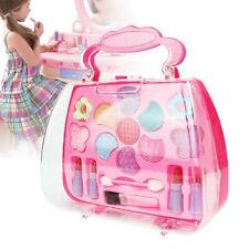 Kids Girls Makeup Set Cosmetic Pretend Play Kit Princess Beauty Toy Gift GIL