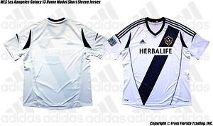 MLS Los Angeles Galaxy 2013 Men's Home Model adidas Short Sleeve Jersey(XL)
