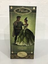 Disney Store Fairytale Tiana And Prince Naveen Designer Collection Doll, New