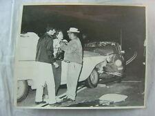 Vintage Car Photo Drunk 1960 Chevrolet Wagon vs Volkswagen Squareback Wreck 793