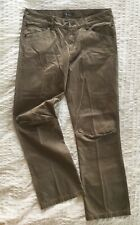 Ibex Womens Sz 8 KhakiOrganic Cotton Expedition Pants w/Articulated Knees M65003