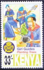 Kenya 1997 MNH, Girls Scout, Planting Trees