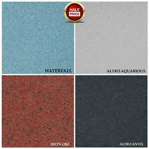 Clearance Heavy Duty Commercial Lino Flooring Kitchen Vinyl R10 Safty Lino Floor