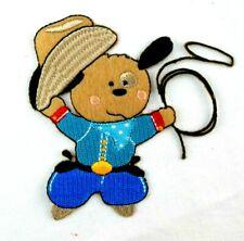 Applikation zum Aufbügeln Bügelbild 2-537 Cowboy Teddy