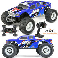 Losi LOS03012T2 1/10 TENACITY 4WD Monster Truck Brushless RTR w/ AVC Blue