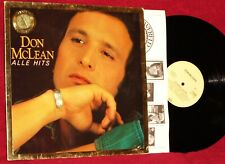 LP DON McLEAN ALLE HITS GREATEST HITS 1980 NETHERLANDS PRESS EMI RAINBOW COLLECT