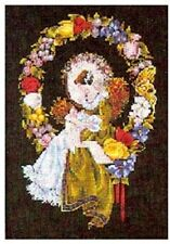 "COMPLETE CROSS STITCH MATERIALS - ""LADY OF THE THREAD"" BY Lavender and Lace"