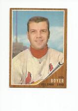 KEN BOYER 1962 Topps Baseball card #370 St. Louis Cardinals EX+/NR MT