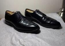 Allen Edmonds Delray Black Leather Split Toe Oxford Dress Shoes Size 9 D