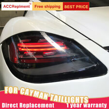 For Porsche Cayman 987.2 LED Taillights Assembly Dark LED Rear Lamps 2009-2012