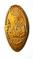 William Travis 1809-1836 Elongated Memorial Penny 1c