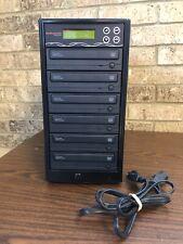 Best Duplicator 6 Disc DVD-CD Burner Multi Disc Recorder WriteMaster *Tested*